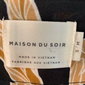 Maison du Soir Intimates & Sleepwear - MAISON DU SOIR FLORAL ROBE KIMONO